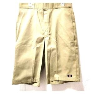Dickie's Men's Twill Work Shorts Loose Fit